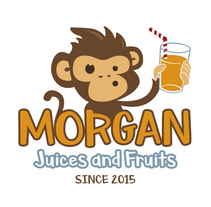 MORGAN Juices and Fruits. Um projeto de Design de personagens e   Ilustración vectorial de Rubén Salazar Almansa         - 01.02.2018
