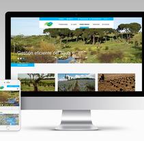 Diseño web responsive. Un proyecto de UI / UX, Diseño Web y Diseño de iconos de Pamela Pons Saez         - 06.03.2017