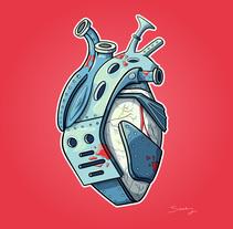 Heart beat. Un proyecto de Ilustración, Diseño gráfico, Comic e Ilustración vectorial de Saray Rodríguez - 15-02-2018