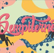 Mi Proyecto del curso: Los secretos dorados del lettering. A Lettering, and Vector illustration project by Florencia Garcia         - 16.02.2018