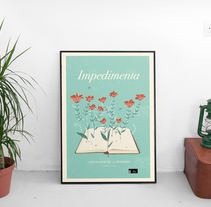 Editorial Impedimenta - Logo y Poster. A Illustration, Br, ing, Identit, and Graphic Design project by Cecilia Díaz         - 22.04.2017