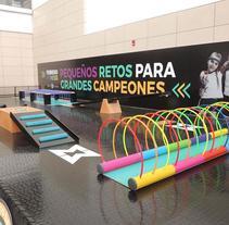 Agencia B-Line  - C.C Multiplaza. A Design project by Ecodiseño 100% carton personalizado         - 25.02.2018