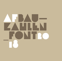 Bauzahlen Font. A Graphic Design, T, and pograph project by Miguel Ángel Hernández         - 04.03.2018