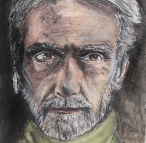 Jeremy Irons. A Illustration, Fine Art, and Film project by Marina Romero Velasco         - 04.03.2018