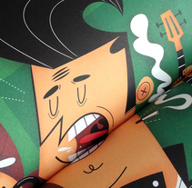 INDRKS! Corona Capital. A Illustration project by Carlos Soto         - 03.10.2014