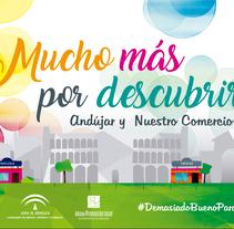Comercio Andújar. Un proyecto de Diseño y Diseño gráfico de Antonio Trujillo Díaz         - 09.03.2018