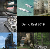 Demo Reel 2018. Matte Painting. . A Illustration, Film, Video, TV, Art Direction, and Painting project by VILCHESSAN Alejandra Ortiz         - 12.03.2018