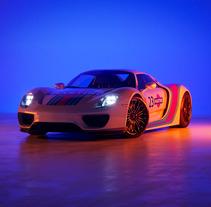 Porsche 918 Spider | CGI. Un proyecto de Publicidad, 3D y Diseño de automoción de Jacobo Rojo         - 14.03.2018