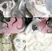 Arquetipos. Um projeto de Ilustração de Natalia Salvador         - 28.02.2018