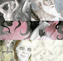 Arquetipos. A Illustration project by Natalia Salvador         - 28.02.2018
