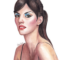 Watercolor. Um projeto de Design e Ilustração de Rosa García         - 15.03.2018