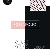 Portafolio. A Design, Editorial Design, Graphic Design, Marketing, Social Media&Infographics project by Kimberly Zarco         - 17.03.2018