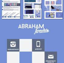 Portfolio 2018. A Marketing, and Web Design project by Abraham Faraldo         - 20.03.2018