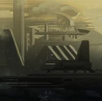 Spaceport. Um projeto de Ilustração de Juan Pérez Soler         - 28.03.2018