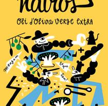 Som Natros . Un proyecto de Diseño, Ilustración, Dirección de arte, Packaging y Animación de personajes de Hernán en H         - 03.04.2018