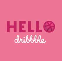 Hello Dribbble | First Shot. A Design, Motion Graphics, Animation, T, and pograph project by Jona Flores         - 03.04.2018