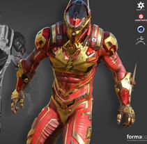 The Flash. Um projeto de Design, 3D, Animação, Pós-produção, História em quadrinhos, VFX e Animación de personajes de Forma Disseny         - 06.04.2018