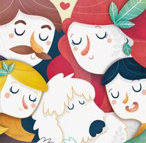 El Convivenciario. Cuentos con valor. A Illustration project by Laura García Mañas         - 12.09.2016