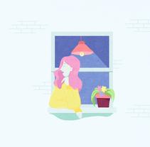 Ventanas. Un proyecto de Ilustración de Almu Muñoz         - 14.04.2018