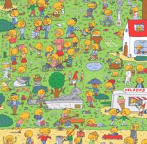 100 Gococos. Un proyecto de Ilustración, Diseño de personajes y Diseño editorial de Gastón Caba         - 16.04.2018