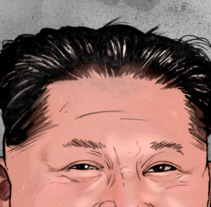 Kim Jong-un. Mi dictador favorito. A Illustration project by ʝ. NEZNA         - 16.04.2018