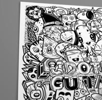 POSTER ILUSTRADO. Um projeto de Ilustração, História em quadrinhos e Ilustración vectorial de Julio Pinilla         - 25.04.2018